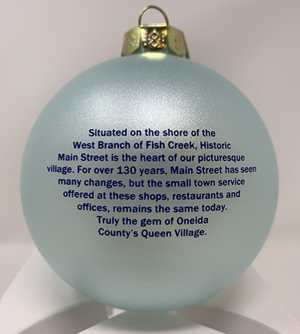 2019 Christmas Ornament Back